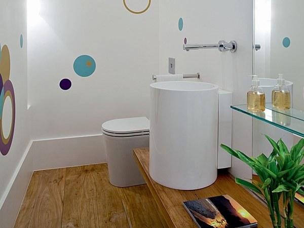 Misturas de Artes LAVABOS -> Decoracao Ecologica Banheiro